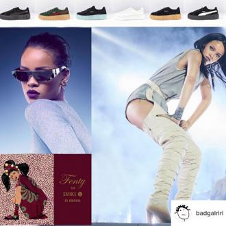 Rihanna's gived fans chance to design 'one-of-a-kind' pair of Creepers with her
