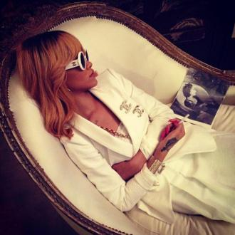 Rihanna Hangs Out In Coco Chanel's Apartment
