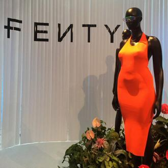 Rihanna has curvy mannequins at Fenty pop-up
