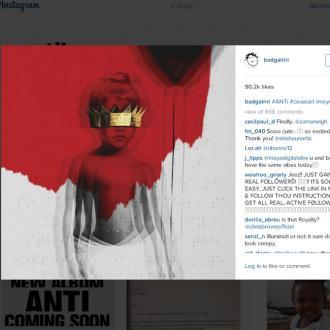Rihanna Reveals Album Title