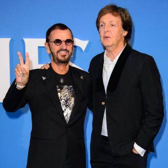 Paul McCartney and Ringo Starr host mini Beatles reunion