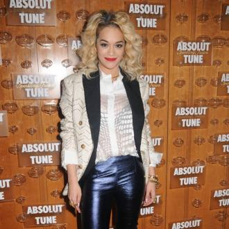 Rita Ora Loves Leather Pants