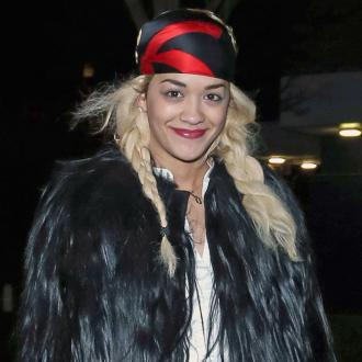 Singer Rita Ora Hits London In Bandana