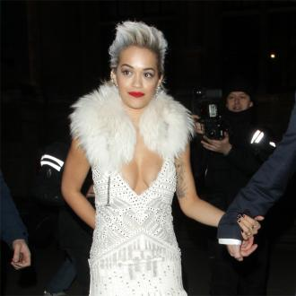 Rita Ora Runs Around Naked