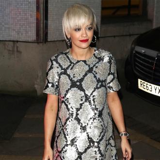 Rita Ora Has All Three Fifty Shades Novels