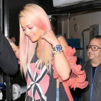 Rita Ora Enjoys Flirty Dinner With Wiz Khalifa