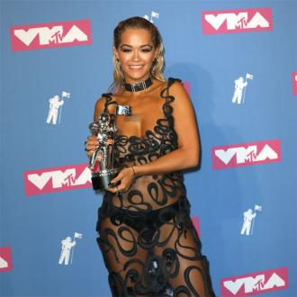 Rita Ora dares to bare in sheer MTV VMAs gown