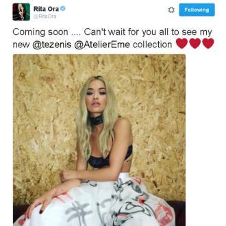 Rita Ora teases Tezenis underwear range