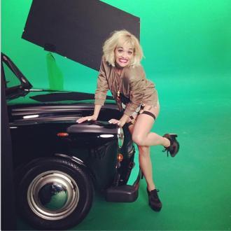 Rita Ora Shoots New Rimmel Campaign