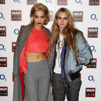 Rita Ora And 'Wifey' Cara Party At Muse Concert