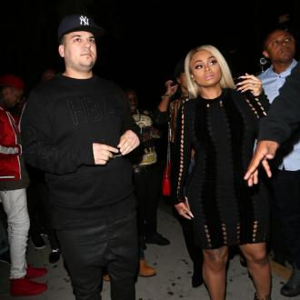 Rob Kardashian and Blac Chyna want to get along