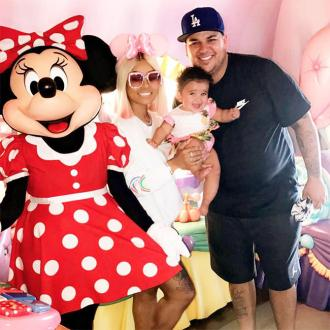 Rob Kardashian spends Father's Day with Dream