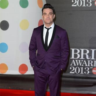 Robbie Williams Recording With Michael Buble