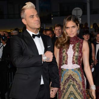 Robbie Williams and Ayda Field made love 'on the rocks'