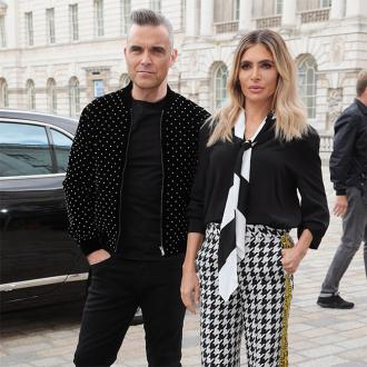 Robbie Williams' wife less than impressed by his British banter
