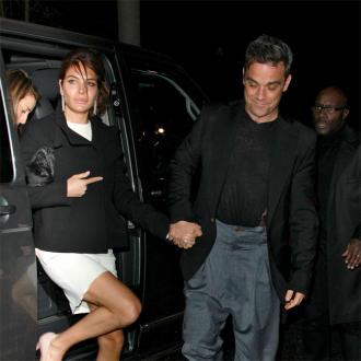 Robbie Williams' Wife Ayda Field Gives Birth