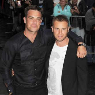 Gary Barlow's baby joy for Robbie Williams