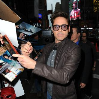 Robert Downey Jr. Counsels His Son