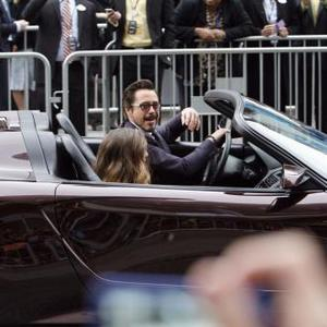 Robert Downey Jr. Drives 9m Car To Premiere