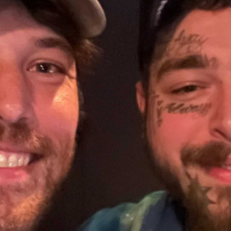 Kanye West and Post Malone in studio with Fleet Foxes' Robin Pecknold