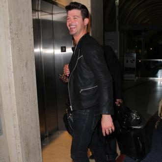 Robin Thicke Praises Inspirational Wife