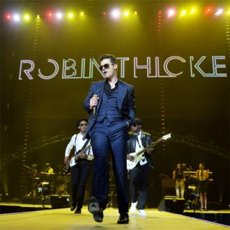Robin Thicke Cancels Third Tour Date After Marriage Split