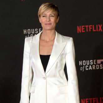 Robin Wright had show responsibility