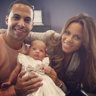 Rochelle Humes 'Overprotective' Over Baby