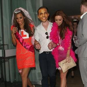Rochelle Wiseman And Una Healy Party On Hen Night