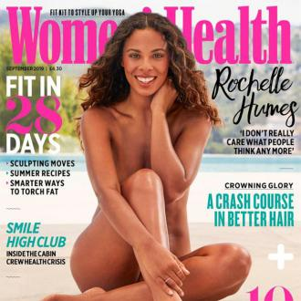 Rochelle Humes embracing natural hair for daughter