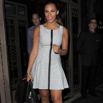 Rochelle Humes Can't Watch Herself