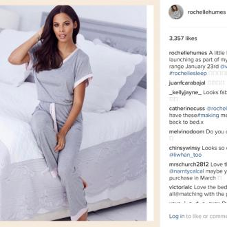 Rochelle Humes to release debut nightwear range this month