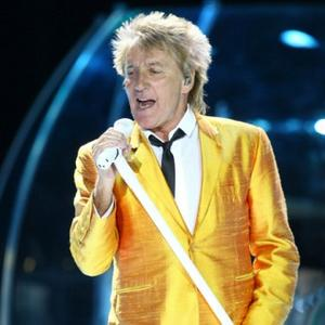 Tired New Dad Rod Stewart
