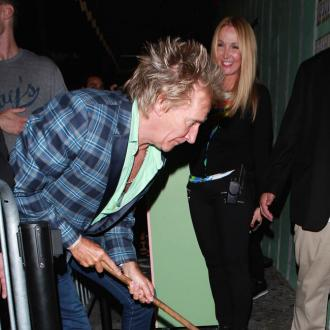 Rod Stewart hit out in 'retaliation'