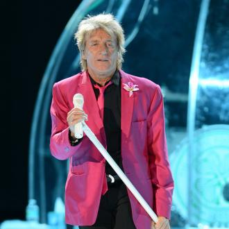 Rod Stewart received Britt Ekland's underwear in the post