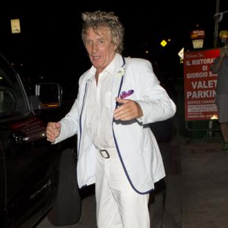 Rod Stewart got high on butt drugs