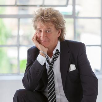 Rod Stewart Loves Festive Sport