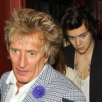 Harry Styles Has 'Heart-to-heart' With Rod Stewart