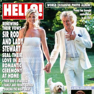 Rod Stewart And Penny Lancaster-stewart's Tearful Vow Renewal