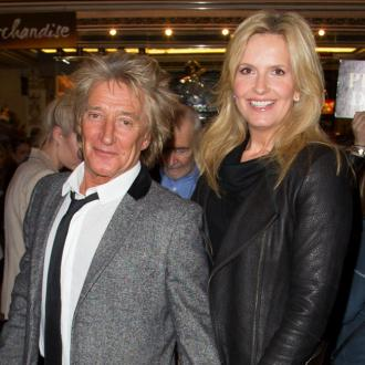 Penny Lancaster always makes time for Rod Stewart
