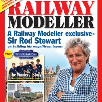 Rod Stewart spent 26 years building model train set