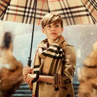 Romeo Beckham Boosts Burberry Sales
