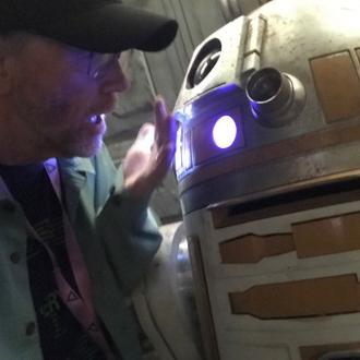 Ron Howard reveals new golden R2 unit