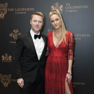 Ronan Keating's panic after fork incident