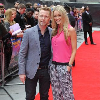 Steven Gately watched Ronan Keating at wedding.