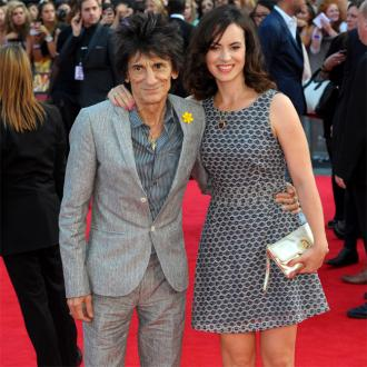 Ronnie Wood and Sally want more twins