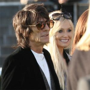 Ronnie Wood Dating Precious Blonde