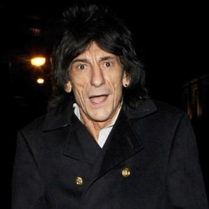 Ronnie Wood's Supportive Girlfriend