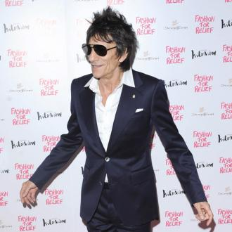 Ronnie Wood's 'idea of heaven' is cuddling up with his family