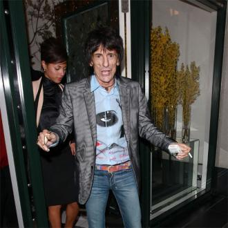 Ronnie Wood Is Engaged